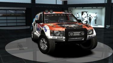 2009 Bowler Nemesis Rallydakar com Livery