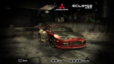 Mitsubishi Eclipse GSX Petey Pablo Livery