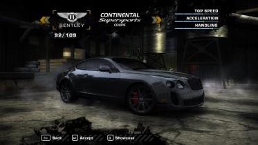 Bentley Continental Supersports Coupe (Added Car)