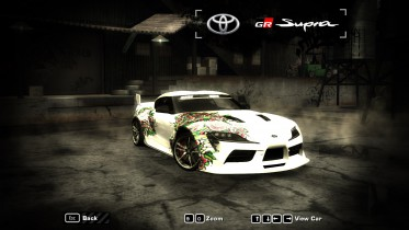 Toyota GR Supra A90 After Dark Livery