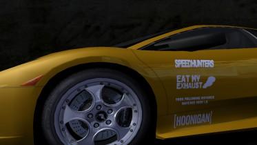 Lamborghini Different Decals