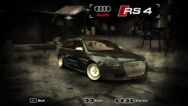 2013 Audi RS4 Avant Inner Strength Livery