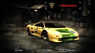 Lamborghini Diablo ''Lamb O'Genie'' Livery
