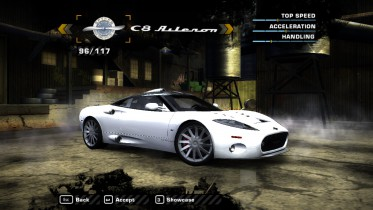 Spyker C8 Aileron (Added Car)