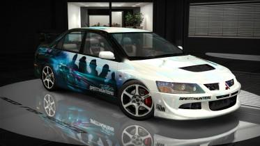 Mitsubishi Lancer Evolution VIII (NFSMW) NFS 2015 HD Livery