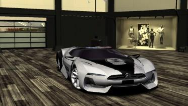 2008 Citroen Gran Turismo Concept Police