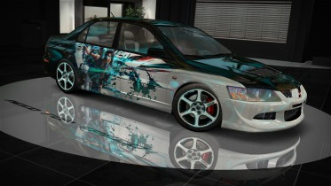 Mitsubishi Lancer Evolution VIII (NFSMW) Mirror's Edge HD Livery