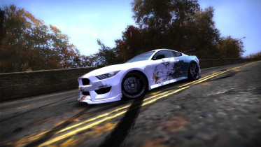 Ford Mustang Shelby GT350 Soaring Eagle Livery