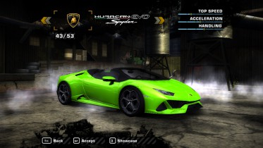 Lamborghini Huracan Evo Spyder 2019 (Added car)