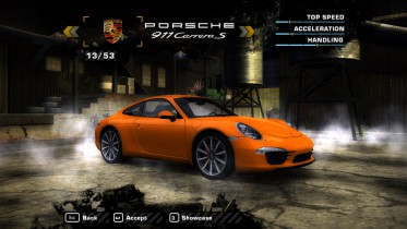 Porsche 911 Carrera S (991) 2013 (Added car)