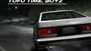 Toyota Corolla GTS (AE86) [Initial D Carbon Edition / Stage 1 - Canyon Cornered]
