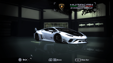 Lamborghini Huracan LB Silhouette