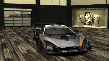 New livery for McLaren Senna GTR