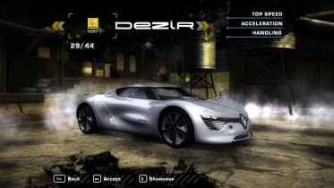 Renault DeZir Concept 2010 (Added Car)