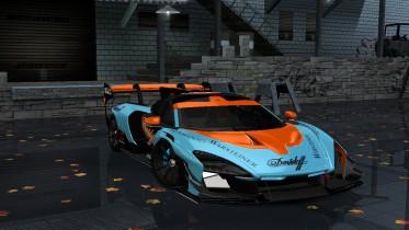 2020 McLaren Senna GTR Gulf Edition