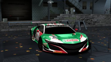 Acura NSX GT3 Liveries