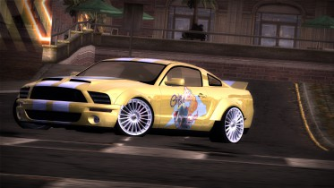 Ford Mustang GT Girls Love Speed Livery