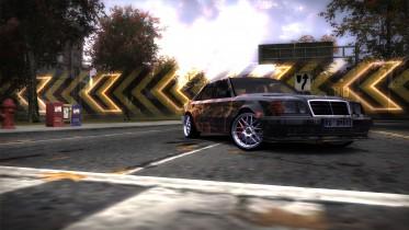 Mercedes-Benz E500 AMG Molten Core Livery