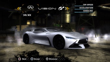 Infiniti Vision GranTurismo Concept (Added Car)