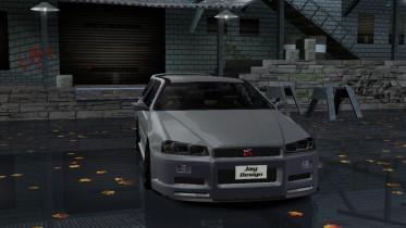1998 Nissan Skyline Stagea R34 GT-R Wagon