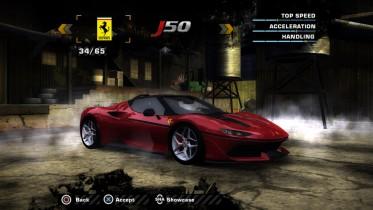 Ferrari J50 2017 (Added Car)