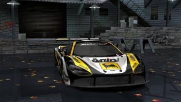 2019 McLaren 720s GT3 AGIP Livery
