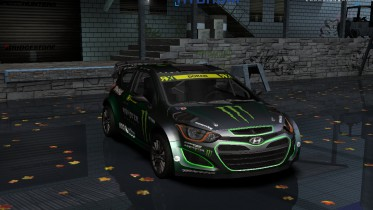 2013 Hyundai i20 WRC Monster Energy