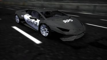 Lamborghini Huracan (Police vinyl)