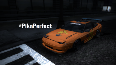 Nissan 180SX Type-X #PikaPerfect