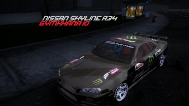 Nissan Skyline R-34 Gymkhana 10