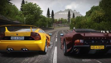 (NFS2 Opening Start Race Scene - Remake in NFSMW) Italdesign Cala & Jaguar XJ220
