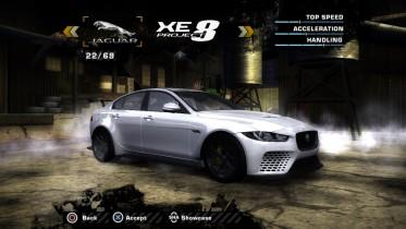 Jaguar XE SV Project 8 (Added Car)