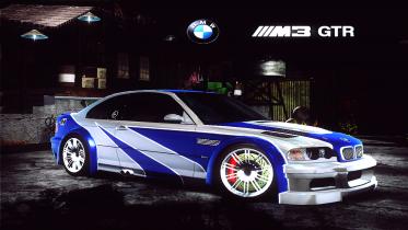 BMW M3 GTR E46 Hero