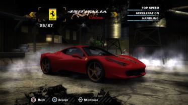 Ferrari 458 Italia China 20th Anniversary (Added Car)
