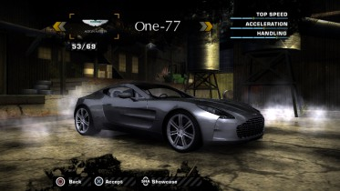 Aston Martin One-77 2009 (Added Car)