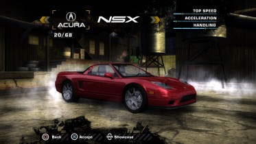 Acura NSX NA2 (Added Car)