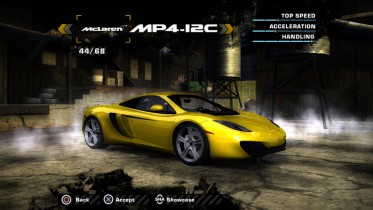 McLaren MP4-12C 2011 (Added Car)