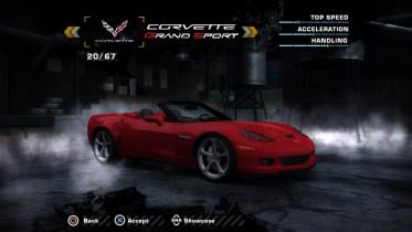 Chevrolet Corvette C6 Grand Sport 2010 (Added Car)