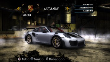 Porsche 911 GT2RS (991.2) 2019 with Gold rims (Added Car)