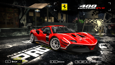 2020 Ferrari 488 Challenge Evo