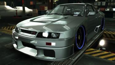 Nissan NISMO GTR LM R33