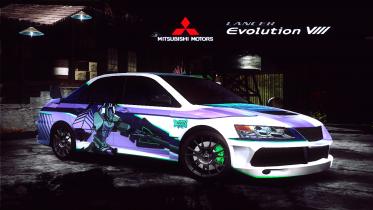 Mitsubishi Lancer Evo VIII (ProvingGrounds)