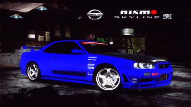 NISMO Skyline GT-R (R34) Speedhunter
