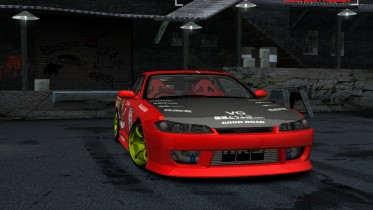 2002 Nissan Silvia S15 Team Drift Monkey
