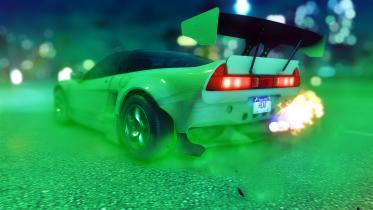 Acura NSX (rocket Bunny)