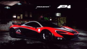 McLaren P1 (Detective Wolf)