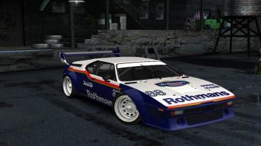 1980 BMW M1 Procar Rothmans