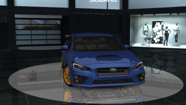 2015 Subaru Impreza WRX STI NBR Challenge Package