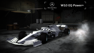 Mercedes-Benz 2019 Mercedes Benz AMG F1 W10 EQ Power (ADDON)