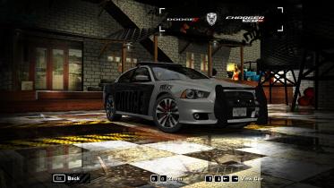NFS Heat Dodge Charger SRT-8